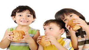 إدمان الأطفال للوجبات السريعة
