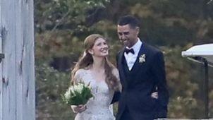 ابنة بيل جيتس ونائل نصار في زفافهما