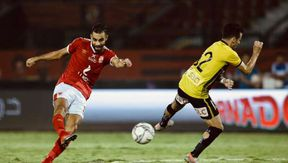 عمرو السولية لحظة تسجيل هدف تعادل الأهلى