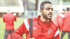 محمود عبد المنعم كهربا لاعب الأهلي