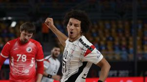 علي زين لاعب منتخب مصر لليد