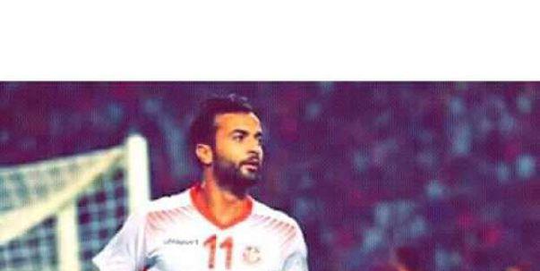 طة ياسين الخنيسي لاعب الترجي التونسي