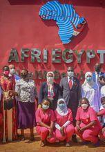 وزيرة الصحة تشهد افتتاح المركز الطبي المصري AFRI Egypt للرعاية بأوغندا