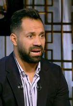 حسني عبد ربه لاعب الإسماعيلي والمنتخب الوطني الأسبق