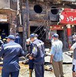 حريق مطعم أبوقرقاص