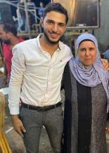الأم وابنها ضحية جريمة كفر الشيخ