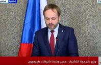 وزير خارجية التشيك