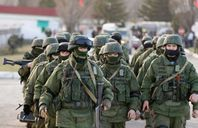 عناصر من الجيش الروسى