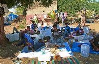 إثيوبيون نازحون من الصراع فى تيجراى