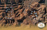 موقع لمقابر جماعية وفردية بمكب القمامة العام  بمدينة ترهونة