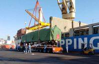 """ميناء الأدبية يستقبل سفينة البضائع العامة """"فينك هوانج سونج"""""""