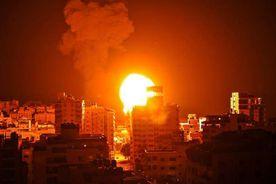 غارة إسرائيلية على قطاع غزة .. صورة أرشيفية