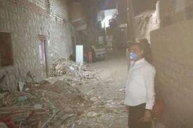 مصرع رية منزل وابنتها وإصابة ٣ آخرين في انهيار منزل بسوهاج