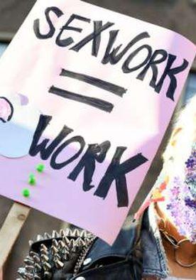 مظاهرة للدفاع عن العاملين بالدعارة في الولايات المتحدة