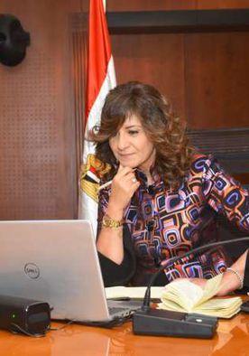 وزيرة الهجرة تعقد الجلسة الحوارية الثالثة عبر «زووم» مع مصريين بكينيا