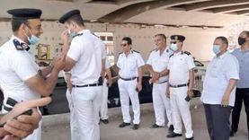 تكثيف أمني مشدد في شوارع الإسكندرية قبل صلاة العيد
