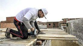 أورمان كفر الشيخ تقوم بتسقيف المنازل ضمن مبادرة «خير بالتقسيط»
