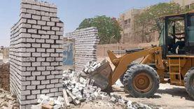 فض تجمعات أفراح وإزالة تعديات البناء المخالف في المنيا