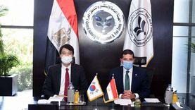 رئيس هيئة الاستثمار يبحث مع سفير كوريا زيادة استثمارات بلاده في مصر