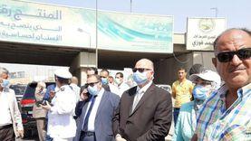 محافظ القاهرة يوجه بإزالة آثار حريق الطريق الدائري