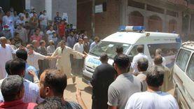 صور.. تشييع جنازة ضحايا انفجار لبنان في سمنود