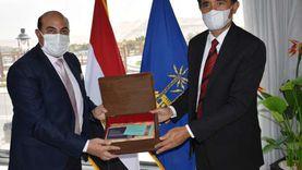 محافظ أسوان يبحث مع سفير إندونيسيا التعاون المشترك