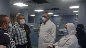 توسعة وحدة المبتسرين وتجديد المصاعد بالمستشفى الجامعي ببني سويف