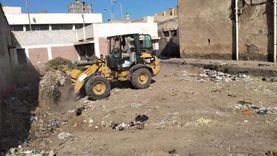رفع 2056 طن مخلفات من الشوارع وإزالة 185 حالة تعدٍ بكفر الشيخ