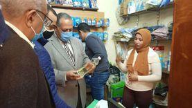 تحريز مضبوطات في حملة على الصيدليات ومخازن الأدوية بأسيوط