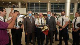 مطار القاهرة يستقبل 2014 مسافرا من جنسيات مختلفة