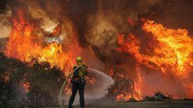 إخلاء منازل في كاليفورنيا خوفا من حريق هائل في الغابات