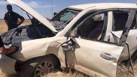 إصابة 7 أشخاص بينهم طفلان في حادثين بالإسماعيلية