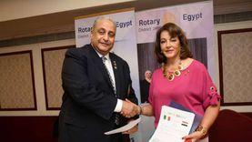 روتاري مصر وإيطاليا يوقعان بروتوكول شراكة دولية