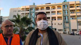 100 متطوع لخدمة مصابي غزة وذويهم بمستشفيات شمال سيناء