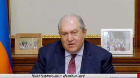رئيس أرمينيا: لن نسمح بحدوث مذبحة جماعية على يد تركيا مرة أخرى