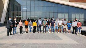 جولة سياحية لوفد من قوات حفظ السلامبمتحف شرم الشيخ (صور)