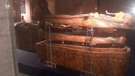 الخبيئة بديل المومياوات الملكية بمتحف التحرير.. تعرف على محتوياتها