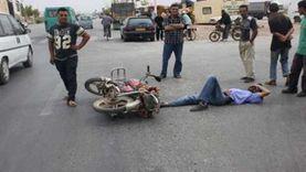 إصابة شخصين في حادث تصادم مروّع بالفيوم ونقلهما إلى المستشفى العام