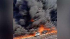 """الدفع بـ""""حاملة مياه"""" وسيارة إطفاء من الشرقية لإخماد حريق الإسماعيلية"""