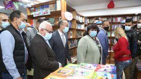 «عبدالدايم» تفتتح مكتبة بورفؤاد ضمن فعاليات بورسعيد عاصمة للثقافة المصرية