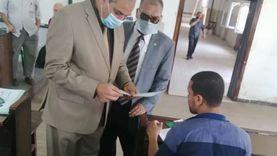 رئيس جامعة الأزهر يتفقد لجان امتحانات الدراسات العليا بكلية أصول الدين