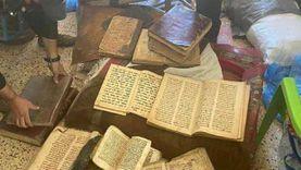 ضبط داعشي بحوزته كتب مسيحية تاريخية في العراق