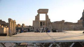 استخدم مسكنا.. الانتهاء من ترميم المرحلة الثانية لمعبد دندره