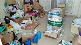 تحريز 13496 عبوة دواء في حملة مكبرة على الصيدليات بدمياط