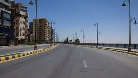 استمرار غلق كورنيش النيل في رابع أيام عيد الأضحى بقنا