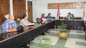 بدء إجراءات إنشاء مركز متخصص للتعليم المدمج بجامعة أسيوط