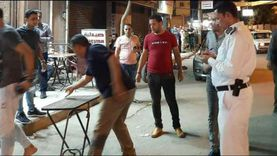 صور.. إزالة 220 مخالفة إشغال طريق خلال حملة ليلية بكفر الدوار