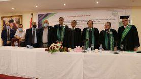 """جامعة مصر للعلوم والتكنولوجيا تنتهي من مناقشة رسالة ماجستير عن """"المدخنة الشمسية"""""""