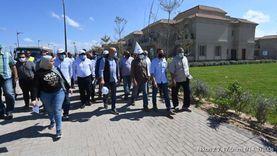 وزير الإسكان يتفقد المشروعات السكنية في المنصورة الجديدة