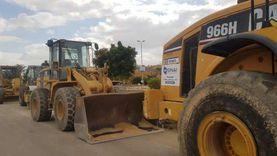 مسؤولو «الإسكان» يتفقدون مشروعات طرق القاهرة الجديدة: الالتزام بالمواعيد أولوية